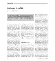Krebs und Sexualität - Ernst Reinhardt Verlag