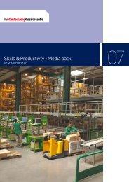 Skills & Productivty - Media pack - The Manufacturer.com