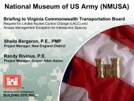 National Museum of US Army (NMUSA) - Commonwealth ...