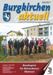 Ausgabe 4, Oktober 2009 (2,13 MB) - Burgkirchen - Land ...