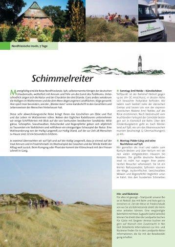 Schimmelreiter - Die Landpartie Radeln und Reisen GmbH