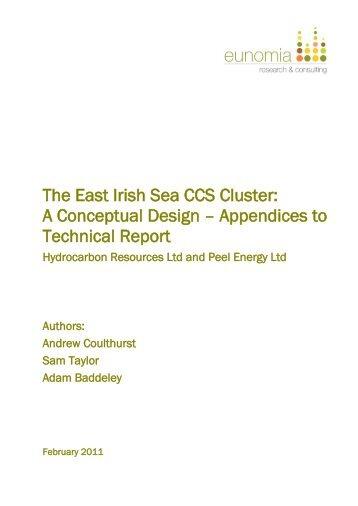 The East Irish Sea CCS Cluster - Eunomia Research & Consulting