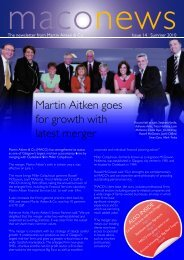 Martin Aitken goes for growth with latest merger - Martin Aitken & Co