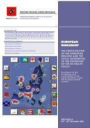 Programme - enrich :: european network of regions improving ...