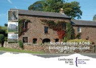 North Pennines AONB Building Design Guide SPD