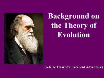 intro to overall evolution