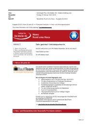 Newsletter Rund ums Haus Februar 2013 (PDF) - VPV Makler