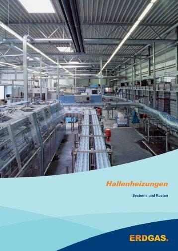 Hallenheizungen - Systeme und Kosten - Verbundnetz plus