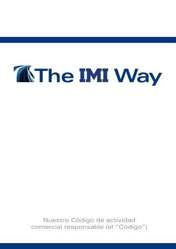 The IMI Way - IMI plc