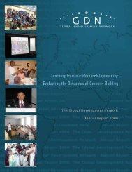 Annual Report 2006 - Global Development Network