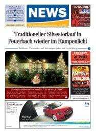 Traditioneller Silvesterlauf in Peuerbach wieder ... - NEWS-ONLINE.at