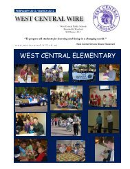 west central wire west central elementary - West Central School ...