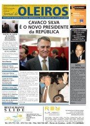 Edição de Janeiro e Fevereiro de 2011. - Jornal de Oleiros