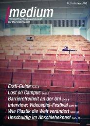 Oktober 2013 - AStA Universität Kassel