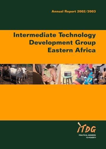 Intermediate Technology Development Group ... - Practical Action