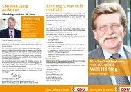 Mein Kandidatenprospekt - CDU-Kreisverband Bonn