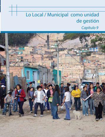 Lo Local / Municipal como unidad de gestión
