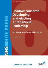 Shadow Consortia: Developing and electing a transitional leadership