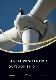 glOBal Wind energy OuTlOOk 2010 - Global Wind Energy Council