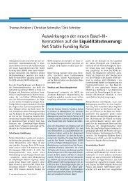 Liquiditätssteuerung - Frankfurt School of Finance & Management