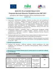 Plan komunikacyjny 2012 - Fundacja Programów Pomocy dla ...