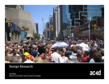 01 Introduction to Design Research and Contextual Inquiry: Context ...