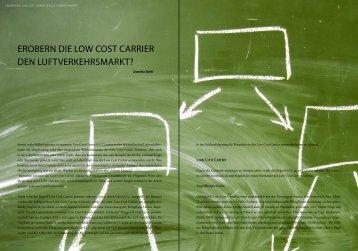 ErobErn diE Low Cost CarriEr dEn ... - Verkehrsjournal