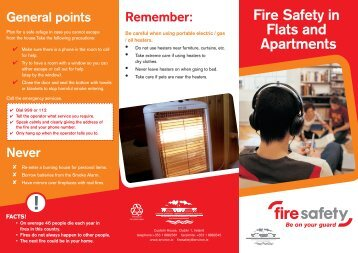 Fire Safety in Flats Apartments