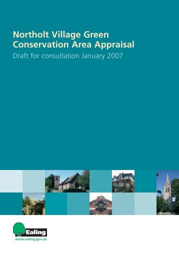 Northolt Village Green Conservation Area Appraisal - Ealing Council