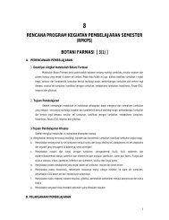 botani farmasi [ 3(1) ] - Farmasi Bahan Alam