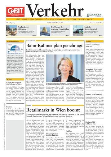 Retailmarkt in Wien boomt - Verkehr