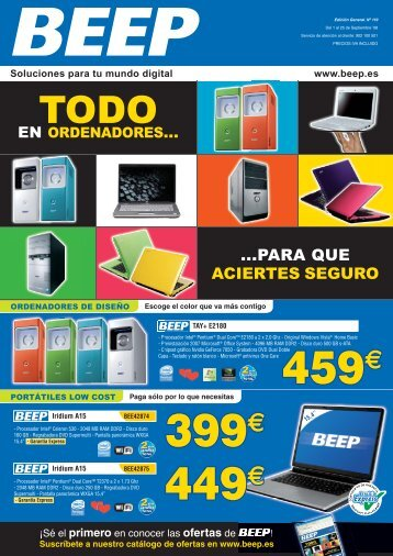 Folleto Ofertas BEEP - septiembre 2008