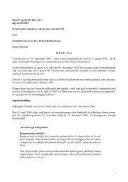 1 Den 29. juni 2011 blev der i sag nr. 65/2010 K ... - Revisornævnet
