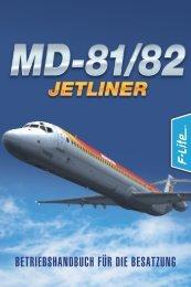 betriebshandbuch für die besatzung - Just Flight and Just Trains