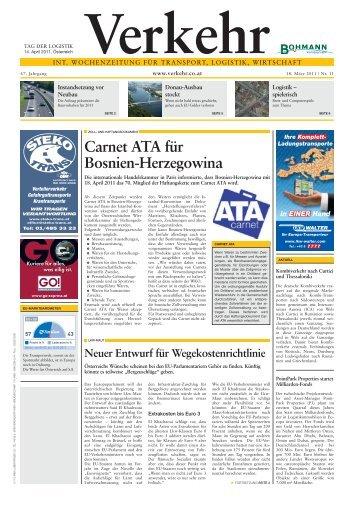 Carnet ATA für Bosnien-Herzegowina - Verkehr