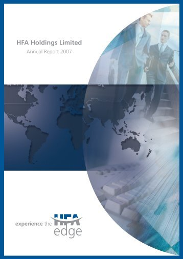 Download document (pdf) - HFA Holdings Limited