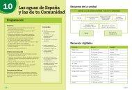 Las aguas de España y las de tu Comunidad