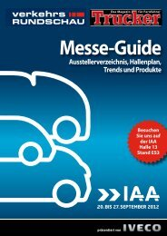 Messe-Guide - Verkehrsrundschau