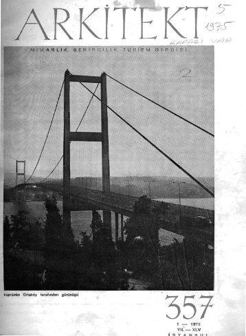 Köprünün Ortaköy tarafından görünüşü - Mimarlar Odası Arkitekt ...
