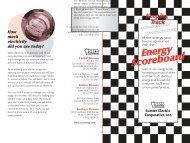 Energy Scoreboard - SECO Energy