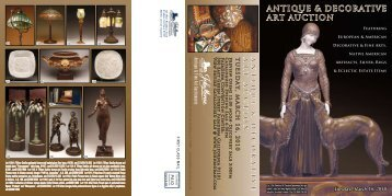 ANTIQUE & DECORATIVE ART AUCTION - California Art Auction