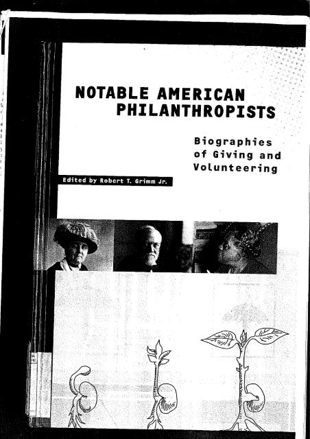 Biographies - PHaSI, Philanthropy and Social Innovation
