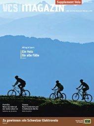 Supplement Velo - VCS Verkehrs-Club der Schweiz