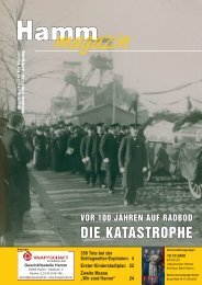 DIE KATASTROPHE - Verkehrsverein Hamm