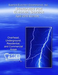 Electric Service Standards - SECO Energy