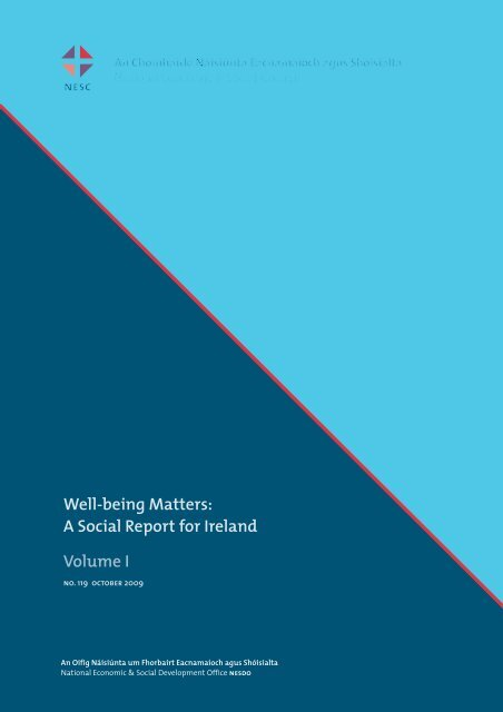 Well-being Matters - National Economic & Social Council