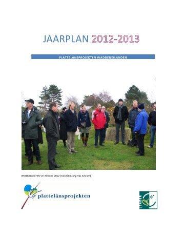 Jaarplan Waddeneilanden 2012-2013.pdf - Netwerk Platteland
