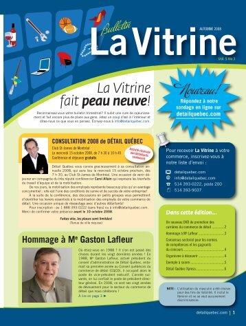 La Vitrine vol. 5, no 3 - Détail Québec