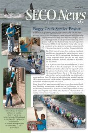 Boggy Creek Service Project - SECO Energy