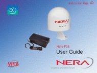 Nera F33 - GMPCS Personal Communications Inc.